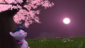 Twilit sky