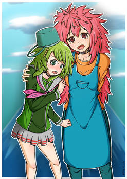Kanna and Nao (Kimi ga shine)