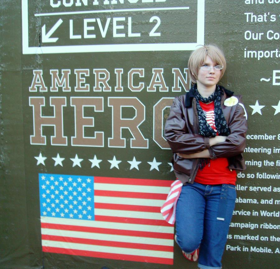 American Hero by Halfmoonpro