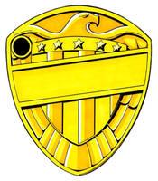Judge's Badge by AaronSmurfMurphy