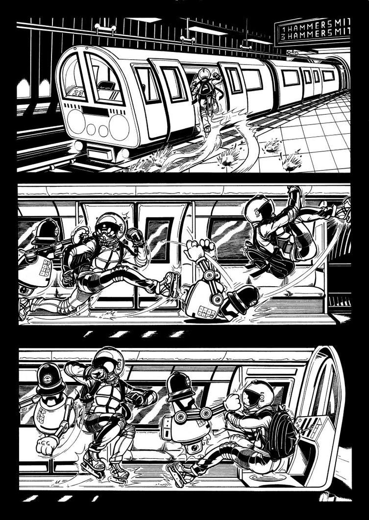Metronaut 4 by AaronSmurfMurphy