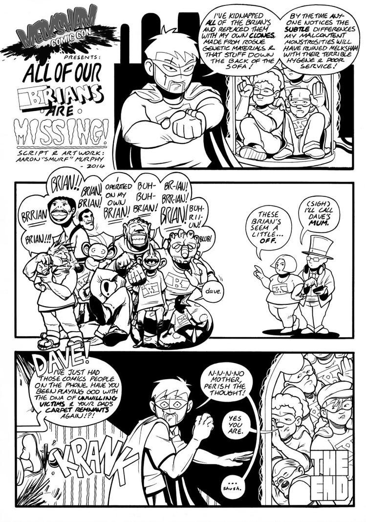Melksham Comic Con 2014 by AaronSmurfMurphy