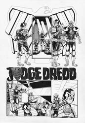 Judge Dredd: Interrogation 1 by AaronSmurfMurphy