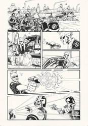 Judge Dredd: Gun Runner 1 by AaronSmurfMurphy