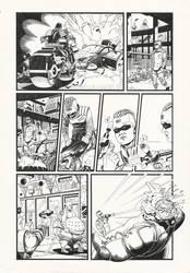 Judge Dredd: Gun Runner 3 by AaronSmurfMurphy