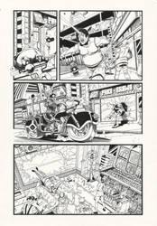 Judge Dredd: Gun Runner 4 by AaronSmurfMurphy