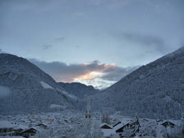 snow in austria by AMYisC0P1C