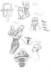 Aria T'Loak - Sketches