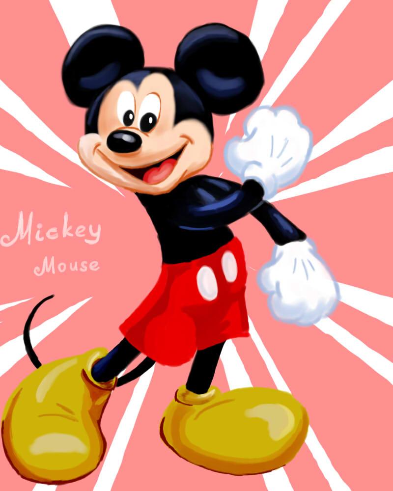Mickey Mouse by LiraTheCat