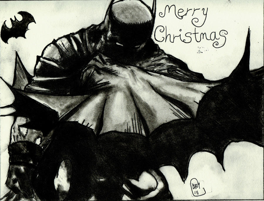 Batman Merry Christmas by LightvsRight on DeviantArt