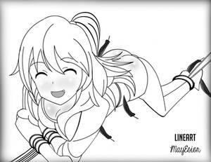 Lineart Nami