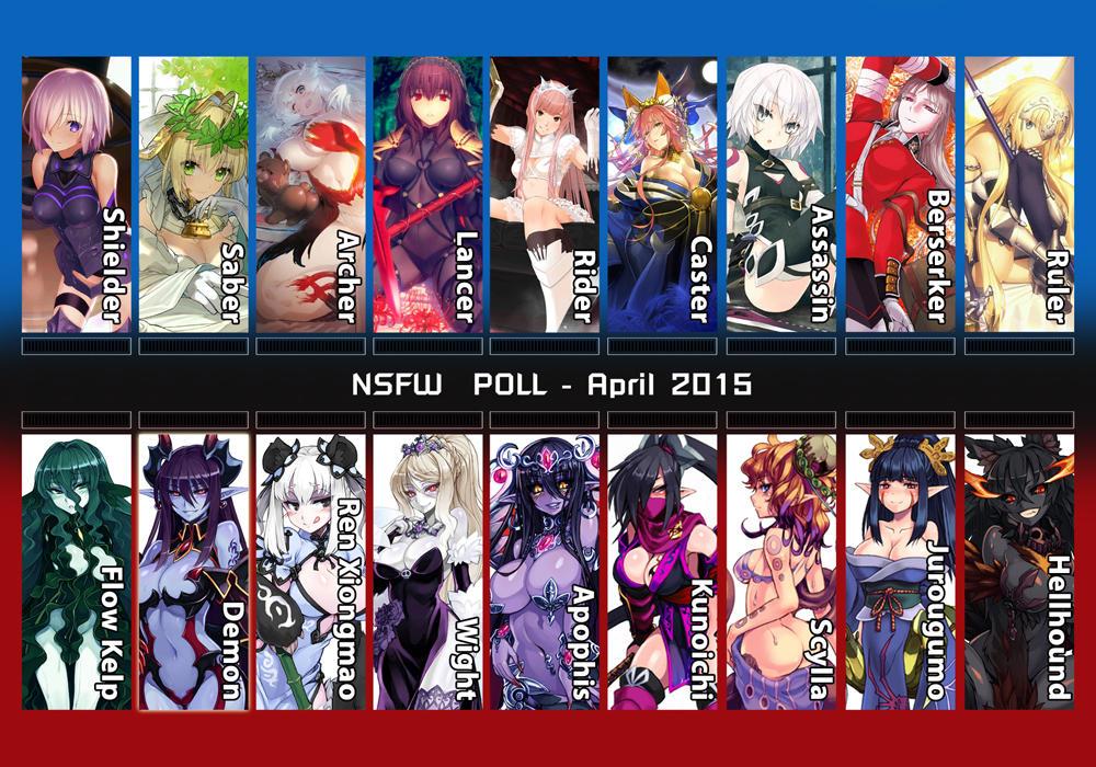NSFW Fanart Poll - 2016 April copy by Butter-T