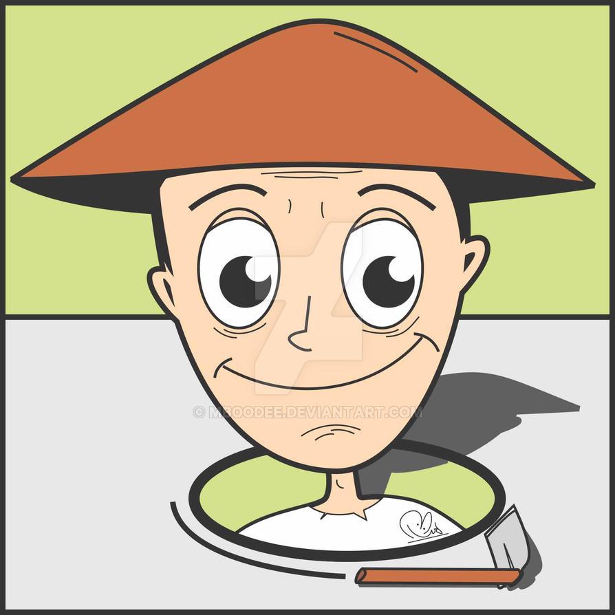 Gambar Pak Tani Mboodee Deviantart Kartun Petani Rebanas Download