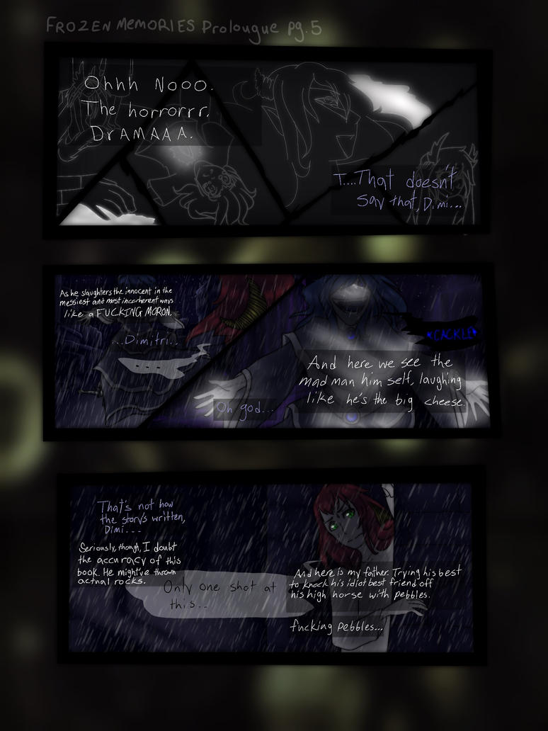 Frozen Memories prologue pg. 5 by TheSkittles22