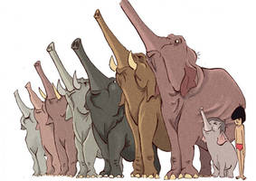 colonel hathi's march by Celiarts