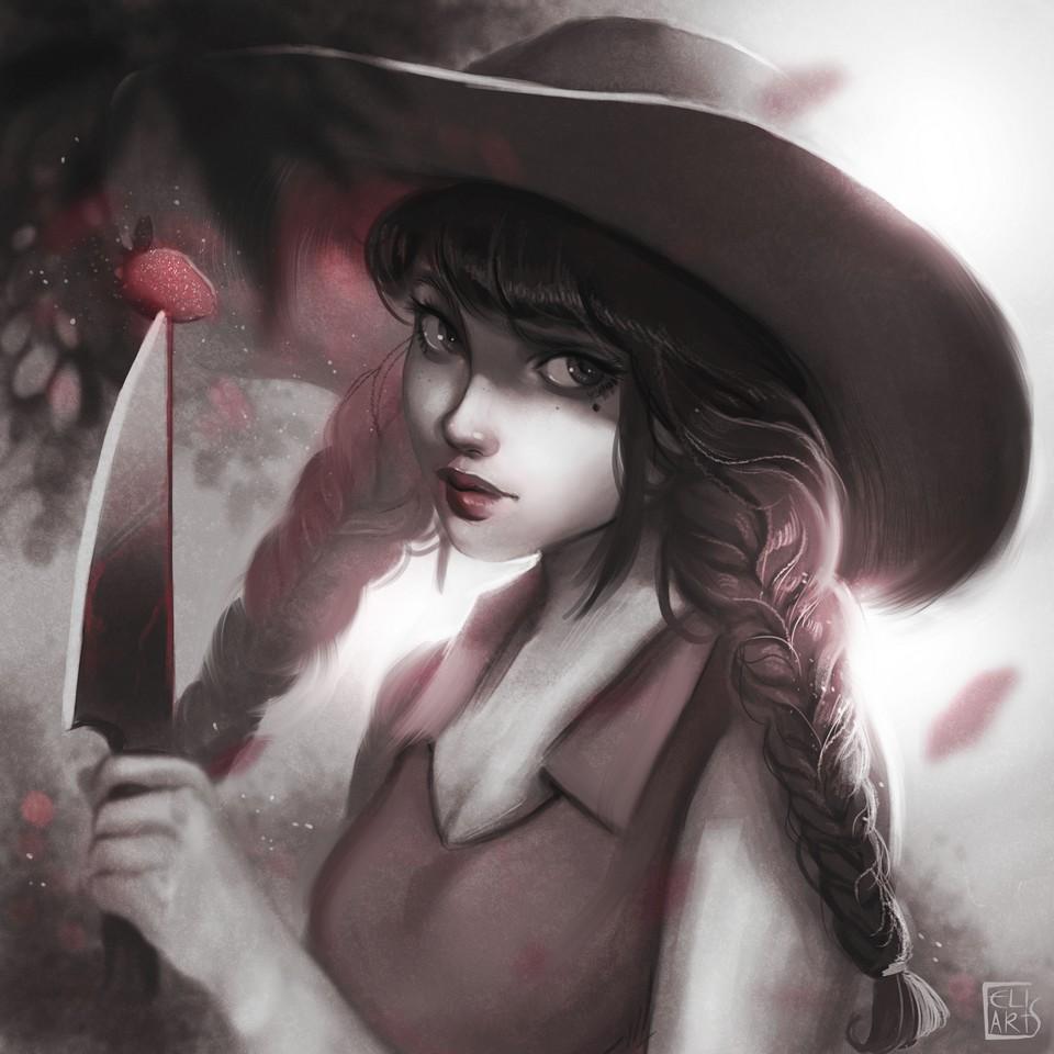 Strawberry lady by Celiarts