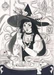 Inktober 2017 - Witch's brew
