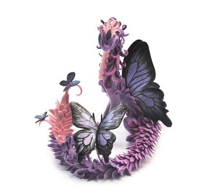 Butterfly Dragon: Lavender Dream