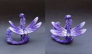Dragon with dragonfly wings