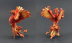 Red bird by MyOwnDragon