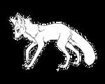 Free Fox/Wolf Lineart