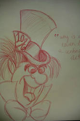Mad Hatter by MagAnnaidh