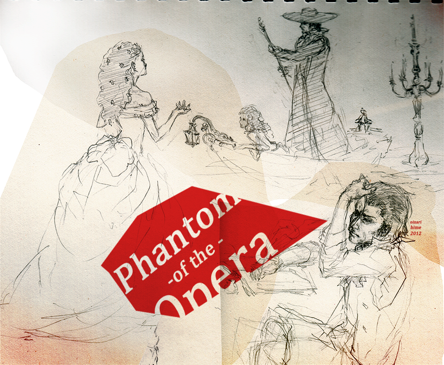 Phantom of the Opera by Oinari-Hime