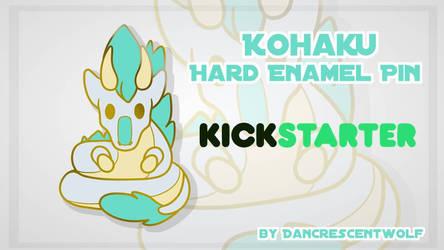 !! Kohaku Enamel Pin Kickstarter !!