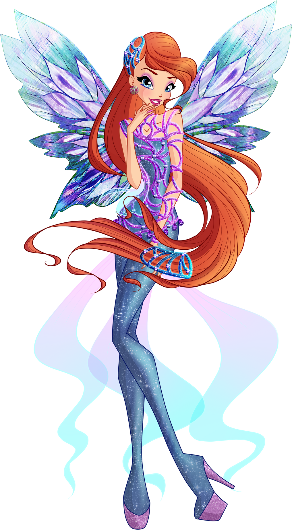 Winx Club - Bloom 2D Dreamix by Feeleam