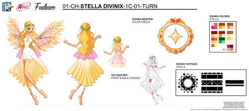 DIVINIX - Stella Concept Art by Feeleam