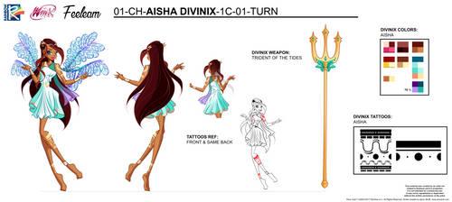 DIVINIX - Aisha(Layla) Concept Art by Feeleam