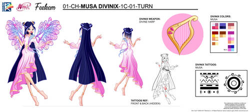 DIVINIX - Musa Concept Art by Feeleam