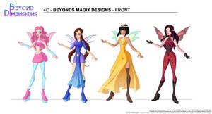 Beyond Dimensions: 'Magix' (MW / MT / Winx) by Feeleam