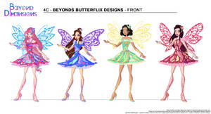 Beyond Dimensions: Butterflix by Feeleam