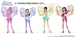 Beyond Dimensions: Cosmix by Feeleam