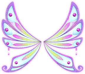 WINX | Enchantix 8 | Tecna's Wings (Light) by Feeleam
