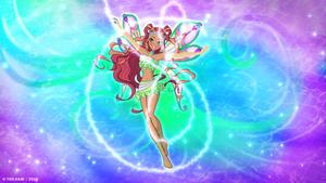Winx Club 8 Aisha Enchantix   Fairy Dust Season 3