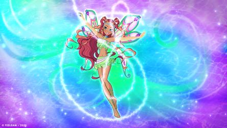 Winx Club 8 Aisha Enchantix | Fairy Dust Season 3