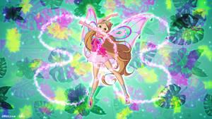 Winx Club 8 Flora Enchantix   Fairy Dust Season 3