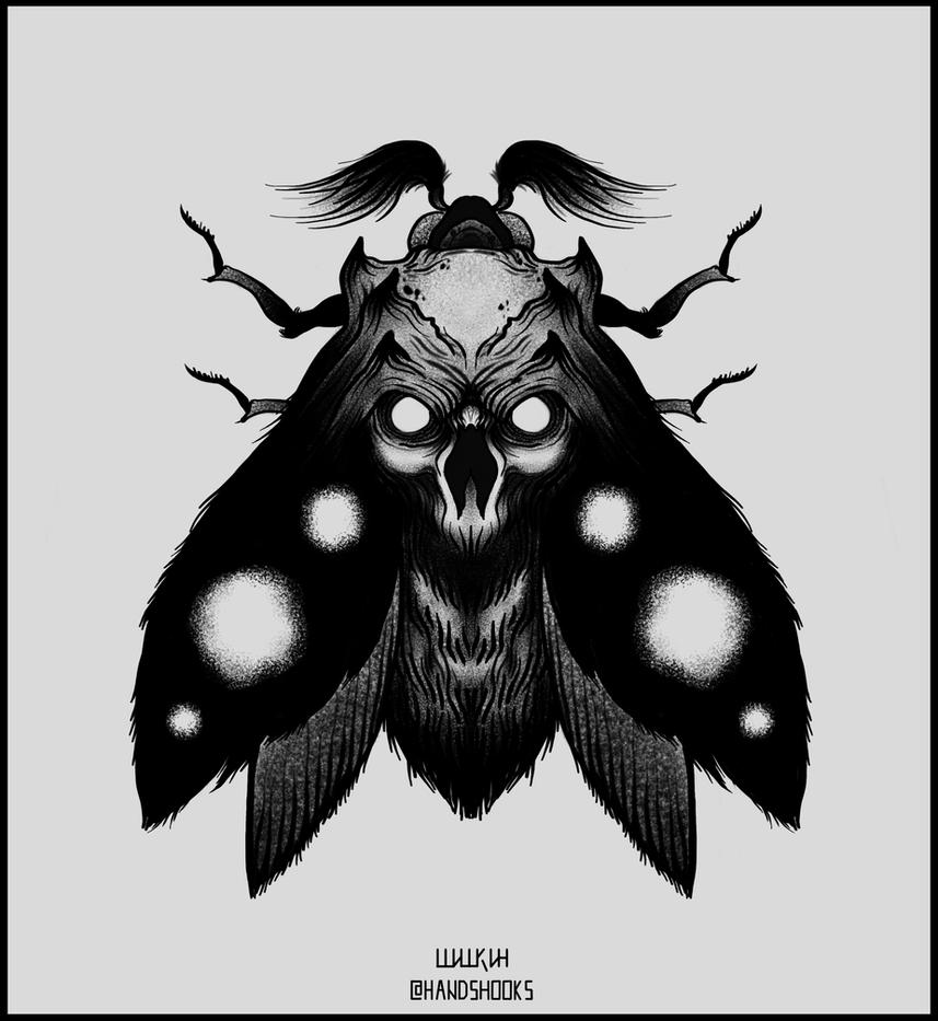 Moth by Hands-hooks