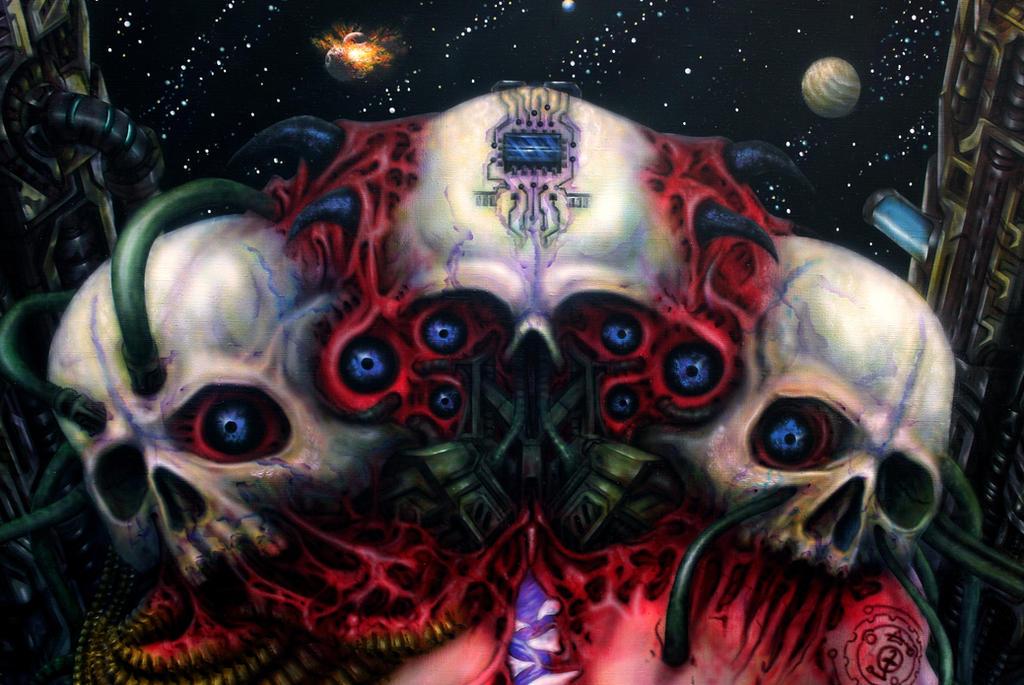 AVirus Skull3 by AVirusErothanatoguru