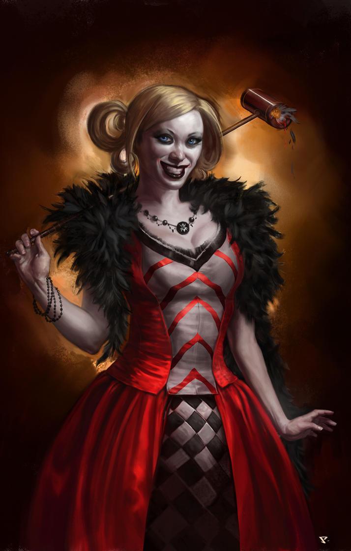 Fancy Harley Quinn by SCiaffaglione