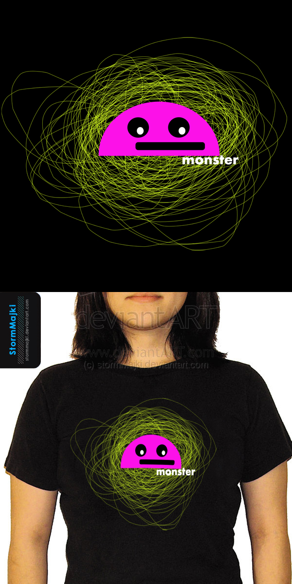 monster_tshirt by stormMajki