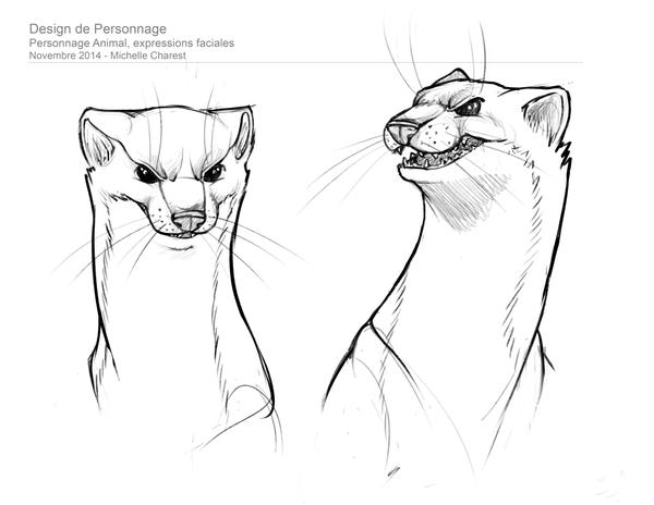 Art Of Animal Character Design Pdf : Animal character design facial expressions by thalvanna