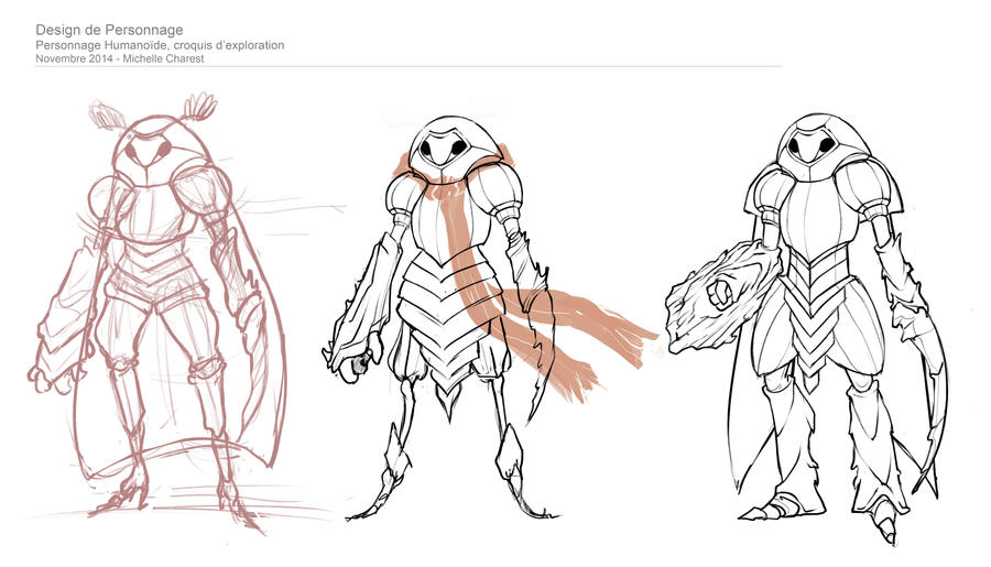 Character Design From Life Drawing : Humanoid character design sketches by thalvanna art on