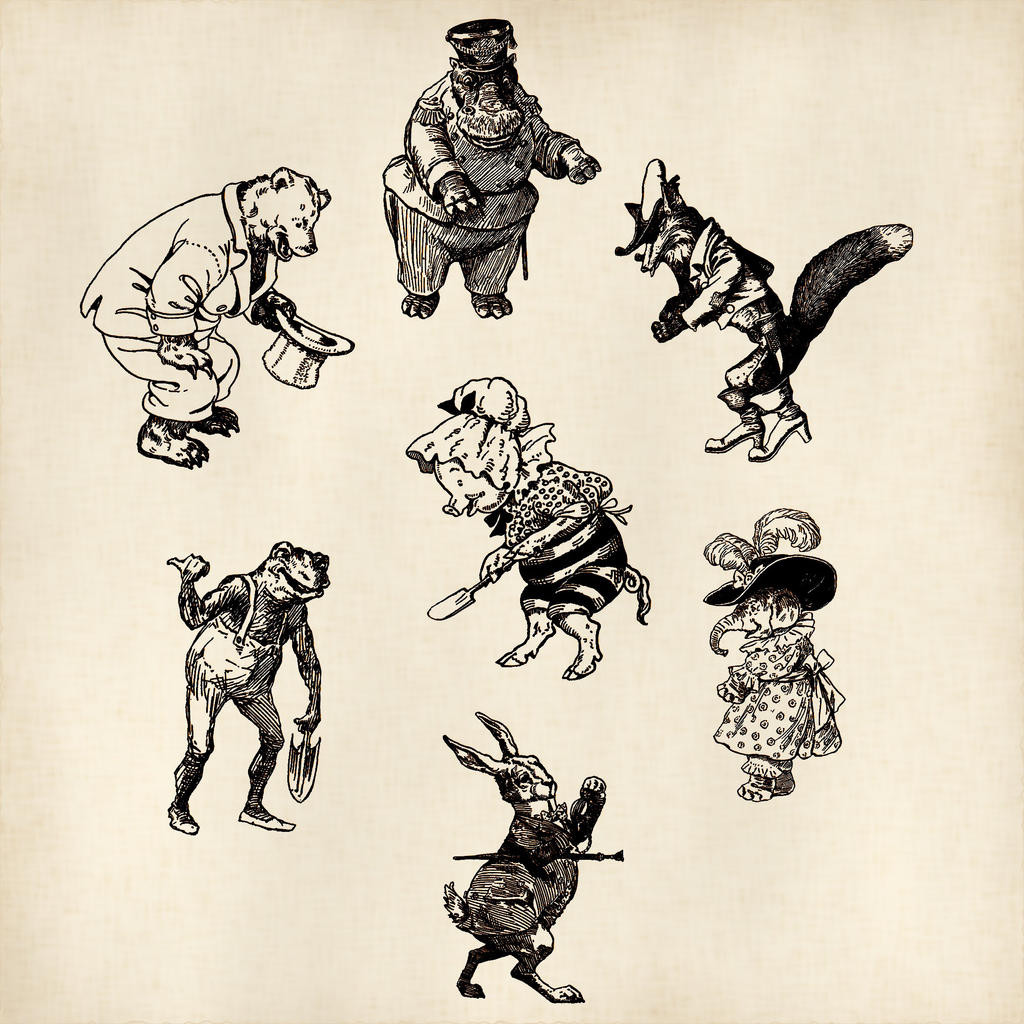 Cat Dog Illustration Coat