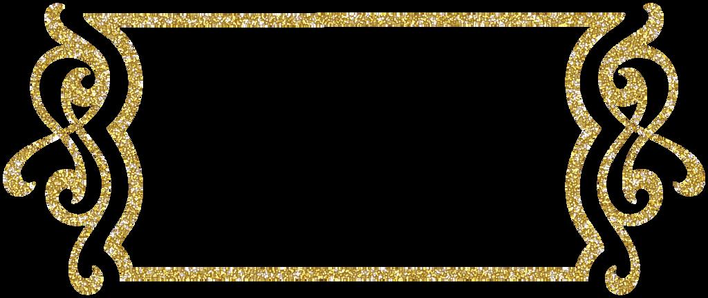 Gold Glitter Letter Cake Topper