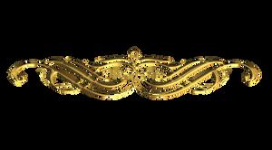 Scrollwork-3 Gold