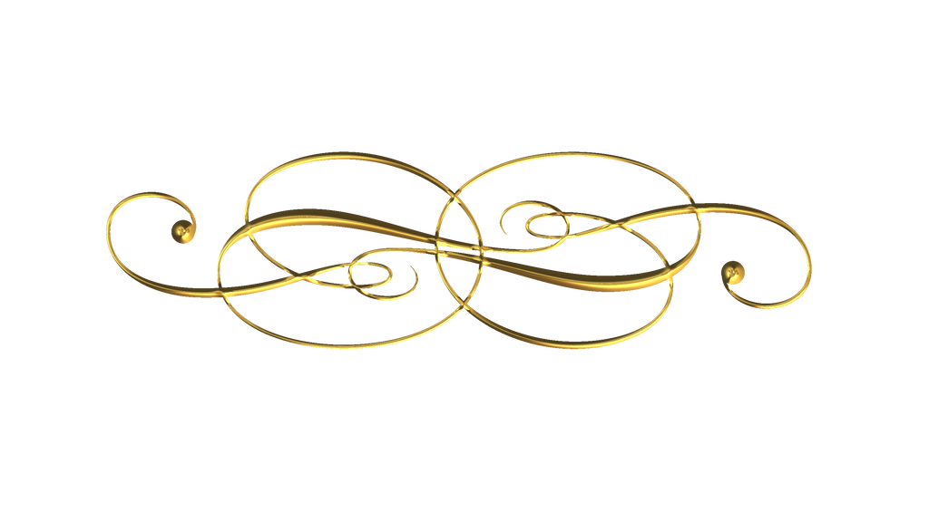 Scroll work clip art of gold pictures to pin on pinterest for Decorative scrollwork