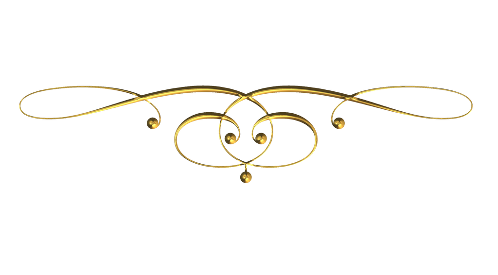 Scrollwork 9 gold by victorian lady on deviantart for Decorative scrollwork